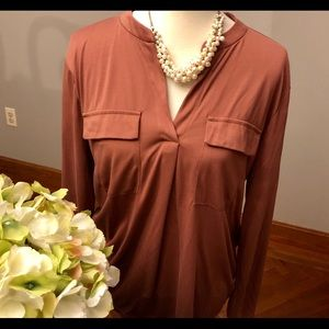 Brownish pink A New Day blouse, large